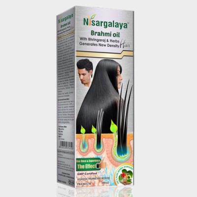 Nisargalaya Hair Oils Nisargalaya Brahmi Hair Oil