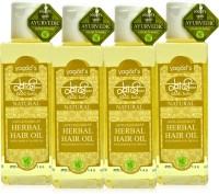 Khadi Herbal Anti-Dandruff Oil [pack Of FOUR] Hair Oil (300 Ml)