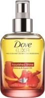 Dove Elixir Nourished Shine Hibiscus & Argan Hair Oil: Hair Oil