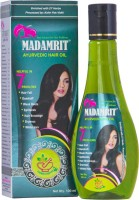 Madamrit Ayurvedic Hair Oil 100 Ml 3 Pack + 1 Madamrit Shampoo Free (100ml) Hair Oil (100 Ml)