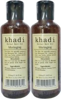 Khadi Herbals Bhringraj [ PACK Of 2] Hair Oil (420 Ml)