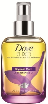 Buy Dove Elixir Dryness Care  Hair Oil: Hair Oil