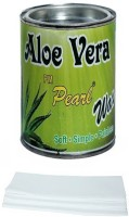 Pm Pearl Hair Removal Aloe Vera Wax With Strips (600 G)