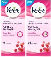 Veet Full Body Waxing Kit Normal (Pack Of 2) (100 G)