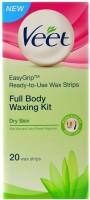 Veet Full Body Waxing Kit - Dry Skin (Pack Of 1) (0 G)