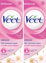 Veet Hair Removal Cream -Normal Skin 60 Gm (Pack Of 2) - 120 G