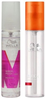 wella Hair Serums wella mirror polish shine hair serum