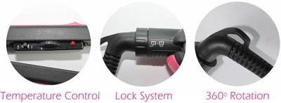Styler NHC-817 Nova NHC-817 Hair Straightener (Pink)
