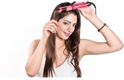CSK 2 In 1 Advanced Beauty Styler NHS 800/00 Hair Straightener (PINK)