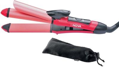 NuCleair Nova NHC-2009 Hair Straightener (Pink)