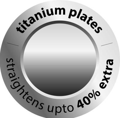Agaro Instastraight Titanium HS 8543 Hair Straightener (Black)