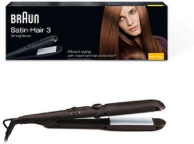 Braun Satin 310 Hair Straightener (Black)