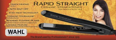 Wahl Rapid Straight Ceramic Hair Straightener (Black)