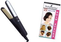 Style Maniac Professional Sm-nhc-482crm Hair Straightener (Black)