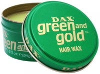 Dax Green And Gold Hair Styler