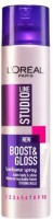 Loreal Paris Studio Line Boost & Gloss Volume Spray Strong Hold 7 Hair Styler