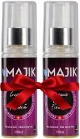 Majik Majik Fiber Hold Spray 100 Ml Combo,Set Of 2 Hair Styler
