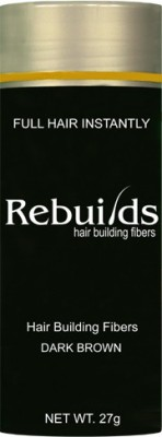 Rebuilds Hair Care Rebuilds Rebuilds Building Fiber Dark Brown Hair Styler