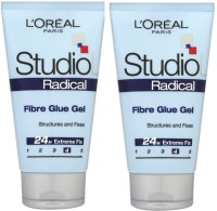 d76e395c219 Buy L 'Oreal Paris Studio Line Radical Fibre Glue Gel Structures And Fixes  Design Gel (Pack Of 2) Hair Styler on Flipkart | PaisaWapas.com