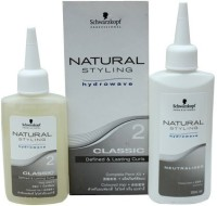 Schwarzkopf Professional Natural Styling #2 Classic - Coloured Hair - Complete Perm Kit (Lotion 80ml + Neutraliser 100ml) Hair Styler
