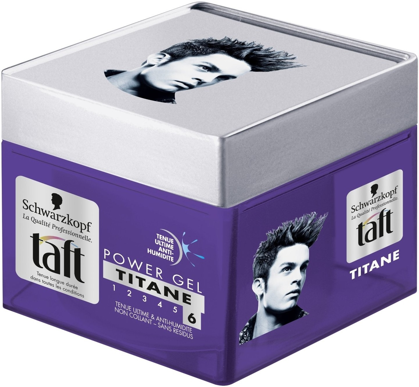 schwarzkopf professional taft power gel titane 6 hair