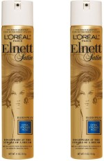 L 'Oreal Paris Hair Styling L 'Oreal Paris Elnett Hairspray Color Treated Hair, Extra Strong Hold Hair Styler