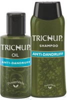 Trichup Herbal Anti-Dandruff Treatment Kit (300 Ml)