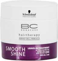 Schwarzkopf Professional Bonacure Smooth Shine Leave-In Treatment (200 Ml)