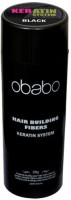 Obabo Hair Building Fibers 28 Grams Black Color (28 G)