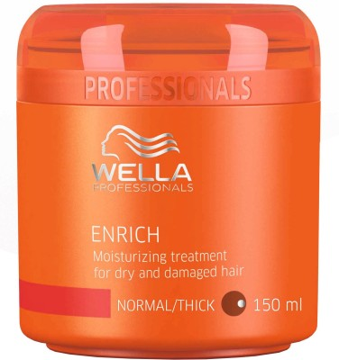 Wella Enrich Moisturizing Treatment Mask for Dry and Damaged Hair