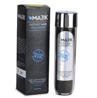 Majik Instant Building Fiber Dark Blonde With Free Bonding Spray, Shiner, Line Optimizer And 3-D Mirror 123486 Soft Hair Volumizer Powder (54 G)