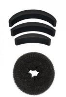 Out Of Box Donut Medium OOB_1005 High Hair Volumizer Bumpits (4 G)