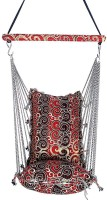 Kkriya Maarketing Swing King Cotton Hammock (Red)