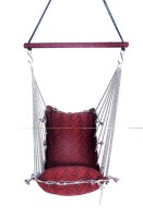 Kkriya Maarketing Regular Swing Cotton Hammock (Red)