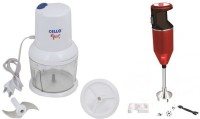 Cello CC-SWING+CPX350MAROON 350 W Hand Blender (White, Maroon)