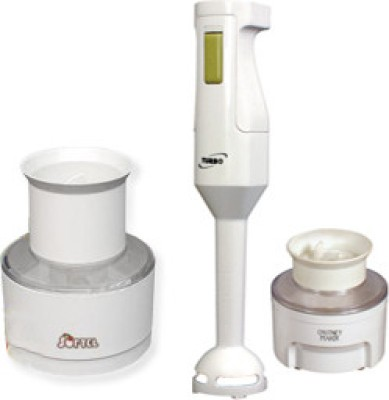 Softel Turbo with Chutney Maker and Chopper 125 W Hand Blender White