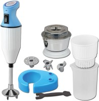 Desire Twister Delux 225 W Hand Blender (White, Blue)
