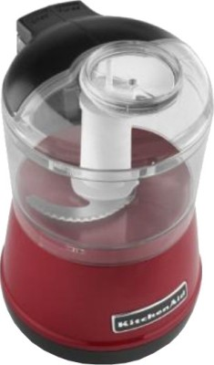KitchenAid 3.5 Cup Food Chopper 300 W Hand Blender Empire Red