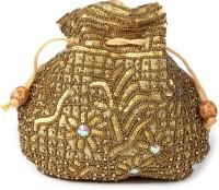 Kleio Ethnic Pouch Potli Gold