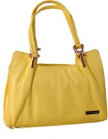 Womaniya Ethnic Hand-Held Bag Yellow