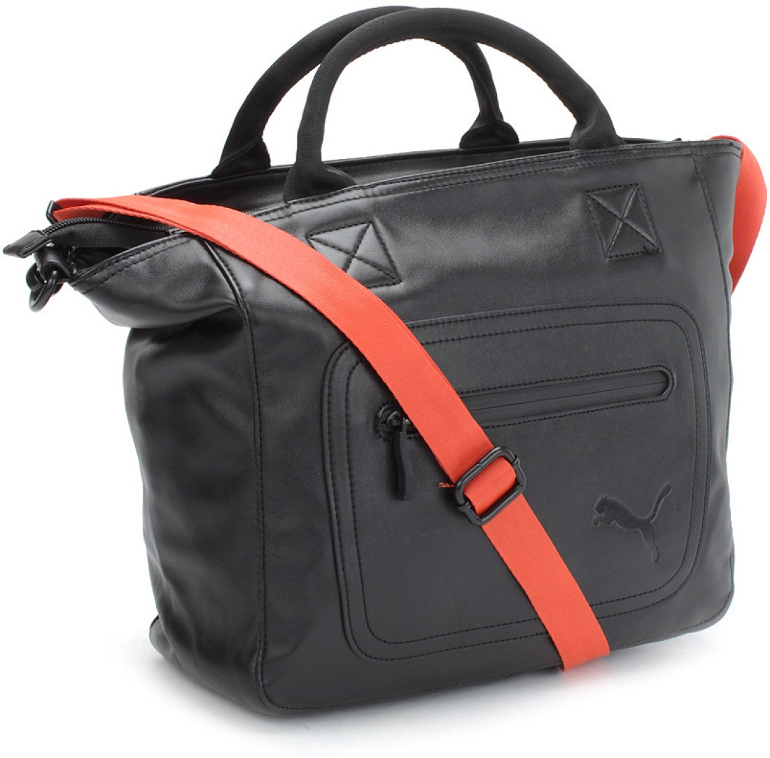 Gym Bag Flipkart: Puma Hand-held Bag Black, Cherry And Tomato