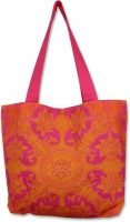 Mad(e) In India Lotus Tote - Orange