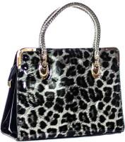 Legal Bribe Leopard Print Hand-held Bag (LB15Black)