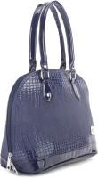 Murcia Hand-held Bag Blue Brown