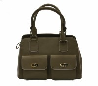Mex Beige Double Pocket Bag Hand-held Bag Beige