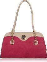 Fantosy Hand-held Bag Pink And Beige