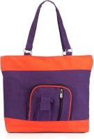 Nell H1050 Hand-held Bag - H1050_Purple_Orange