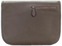 Brune Leather Messenger Bag - Green