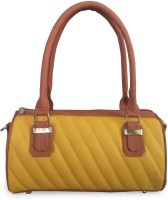 Toteteca Mini Quilt Hand-held Bag (Mustard Tan)