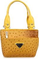Star Style Hand-held Bag Yellow